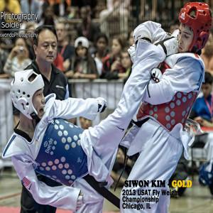 Herndon taekwondo - US Taekwondo College -tkdchampions - sparring Siwon Kim