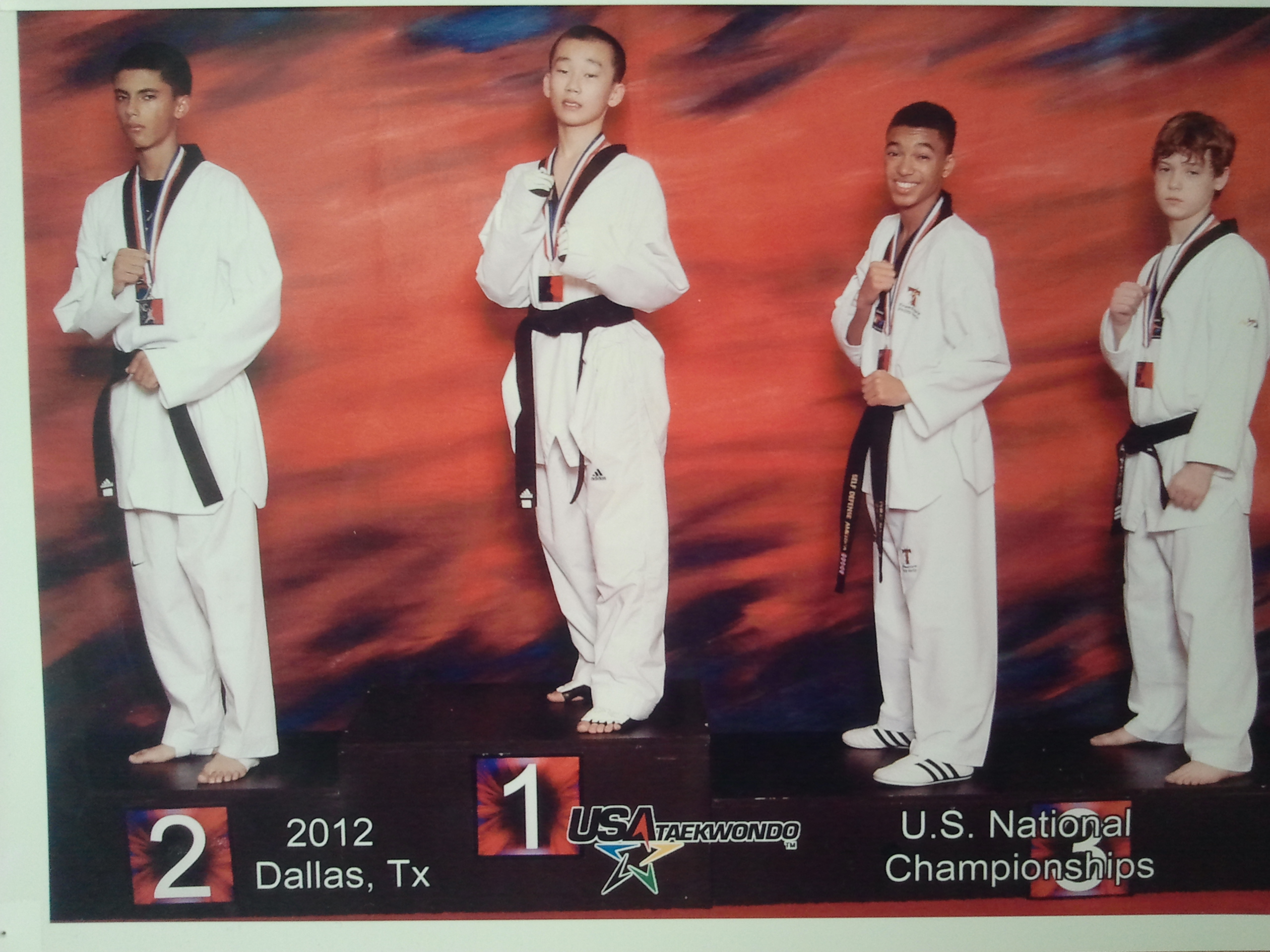 Siwon Kim US National Champion 2012